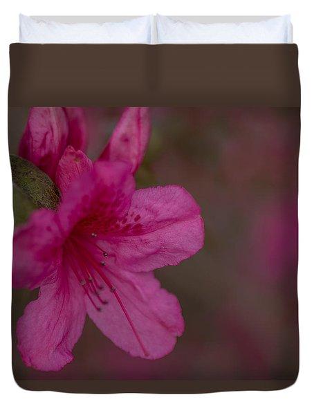 Delightful Azalea Duvet Cover