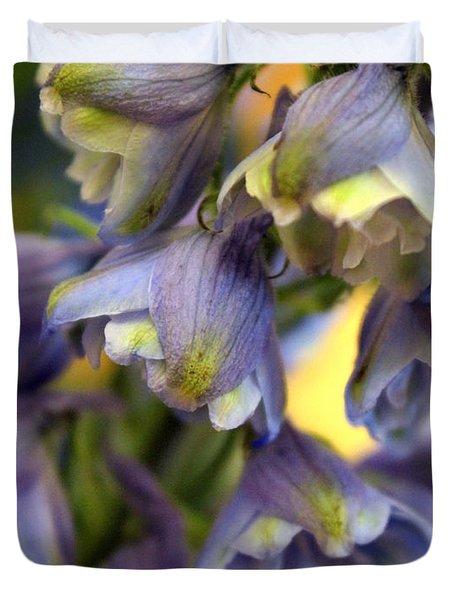Delphinium Blue Duvet Cover