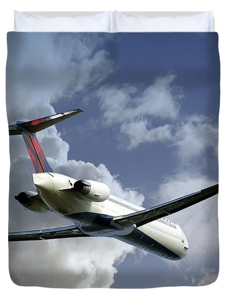 Delta Jet Duvet Cover by Brian Wallace