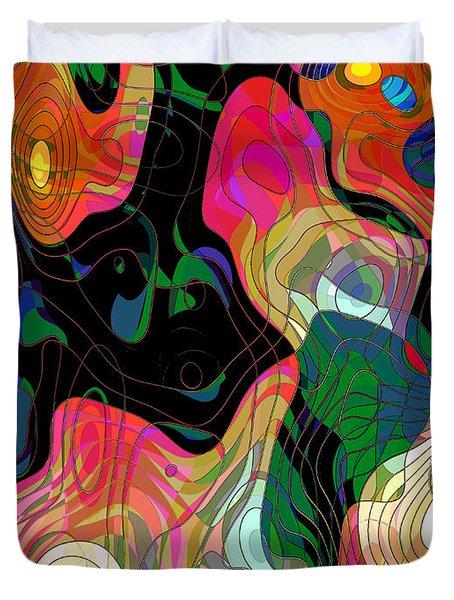 Demons Duvet Cover by Klara Acel