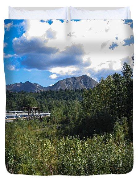 Denali Alaska Duvet Cover