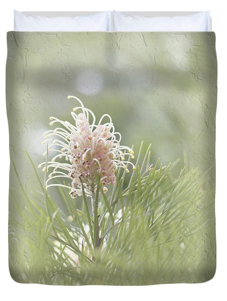 Duvet Cover featuring the photograph Denise by Elaine Teague