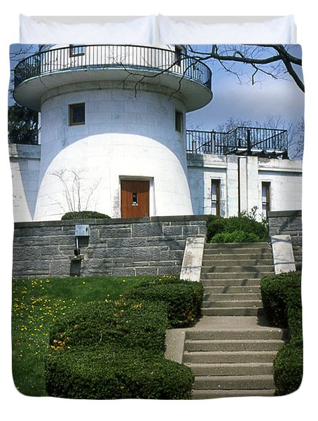 1u22 Swasey Observatory At Denison University Photo Duvet Cover