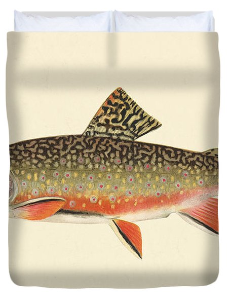 Denton Brook Trout Duvet Cover