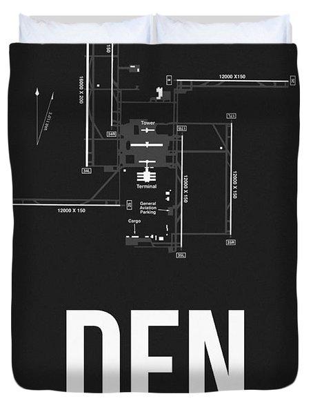 Denver Airport Poster 1 Duvet Cover