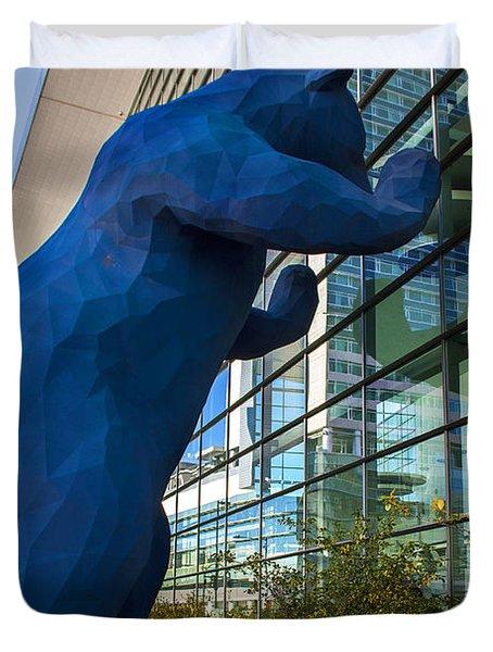 Denver Bear Duvet Cover