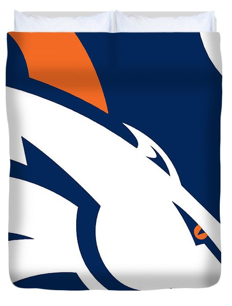 Denver Broncos Football Duvet Cover