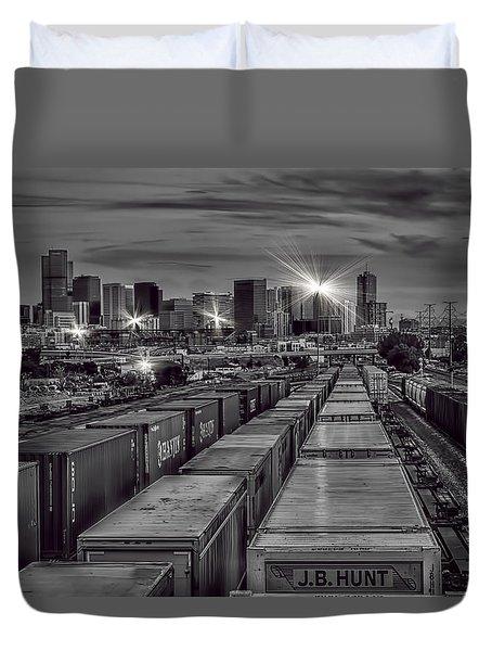 Denver's Underbelly Duvet Cover