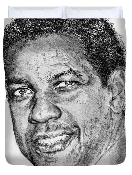 Denzel Washington In 2009 Duvet Cover