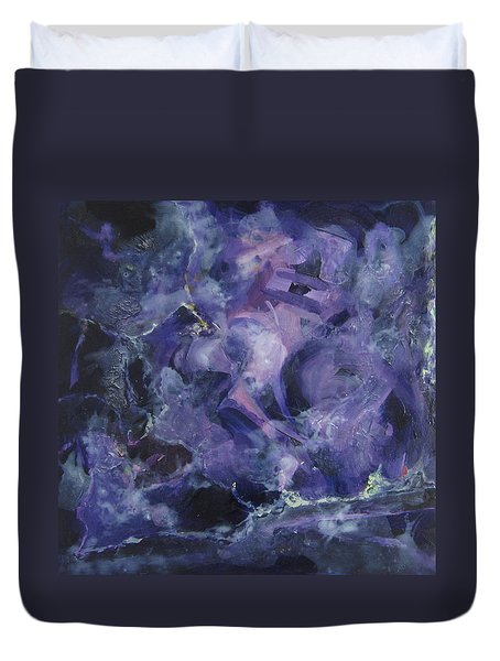 Depths Of Passion Duvet Cover by Connie Schaertl