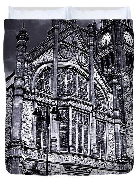 Derry Guildhall Duvet Cover by Nina Ficur Feenan