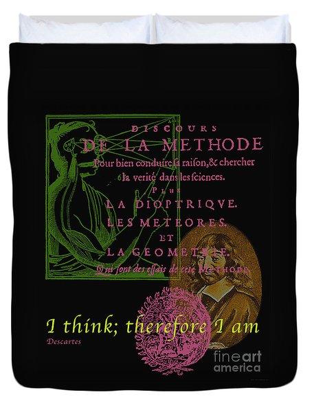 Descartes Duvet Cover