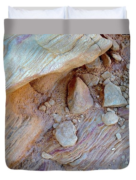 Desert Abstracts 15 Duvet Cover