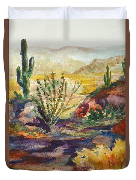 Desert Color Duvet Cover