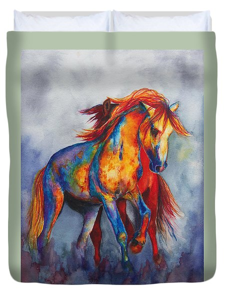 Desert Dance Duvet Cover