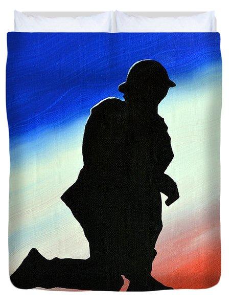 Desert Duty II Duvet Cover by Alys Caviness-Gober