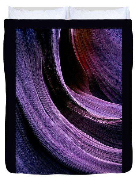 Desert Eclipse Duvet Cover by Mike  Dawson