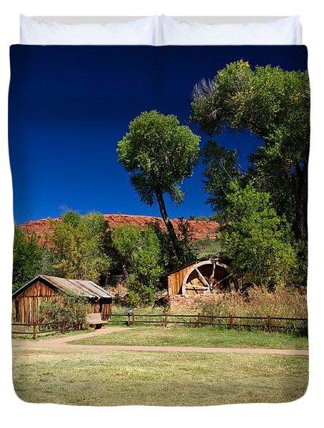 Desert Field Duvet Cover by Dave Files