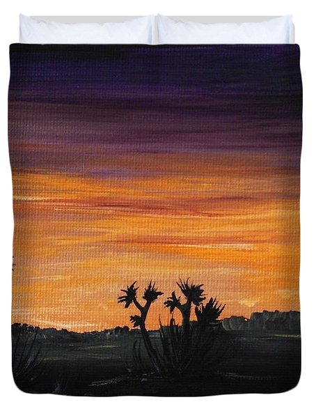 Desert Night Duvet Cover