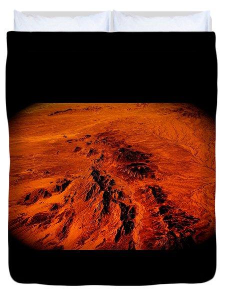 Desert Of Arizona Duvet Cover