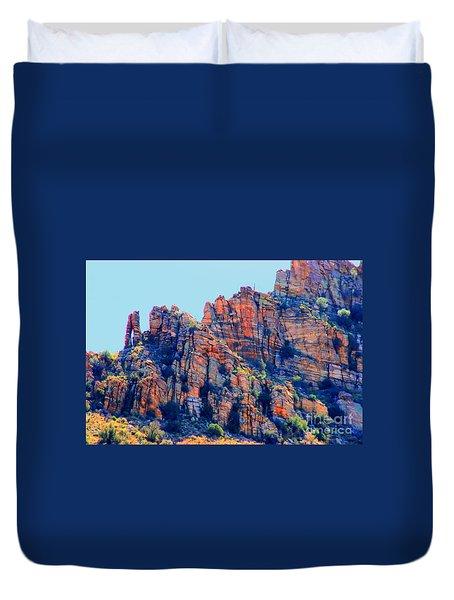 Desert Paint Duvet Cover