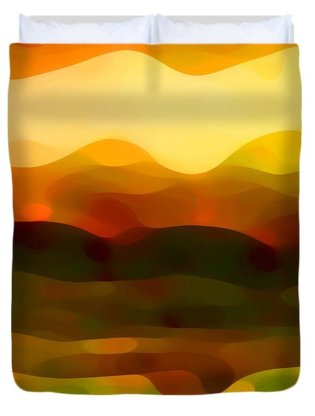 Desert Pattern 2 Duvet Cover by Amy Vangsgard