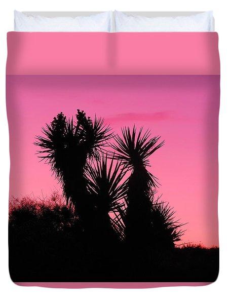 Desert Pink Duvet Cover