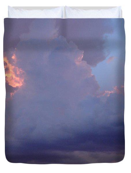 Desert Rainstorm 5 Duvet Cover by Kerri Mortenson