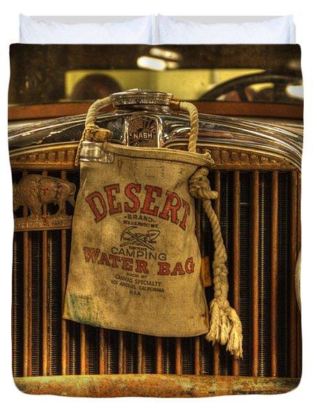 Desert Rat Duvet Cover by Bob Christopher