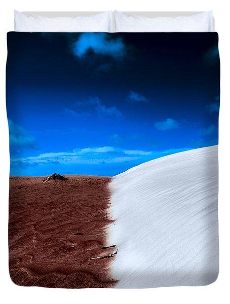 Desert Sand And Sky Duvet Cover