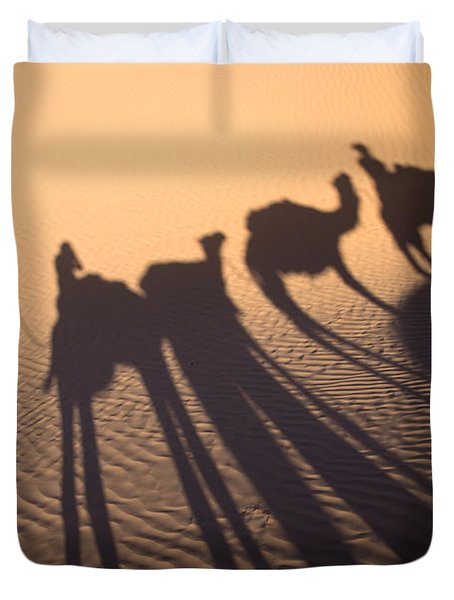 Desert Shadows Duvet Cover