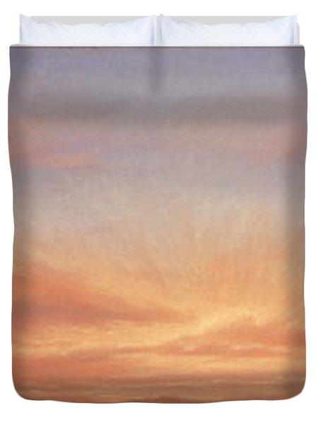 Desert Sky Triptych Duvet Cover