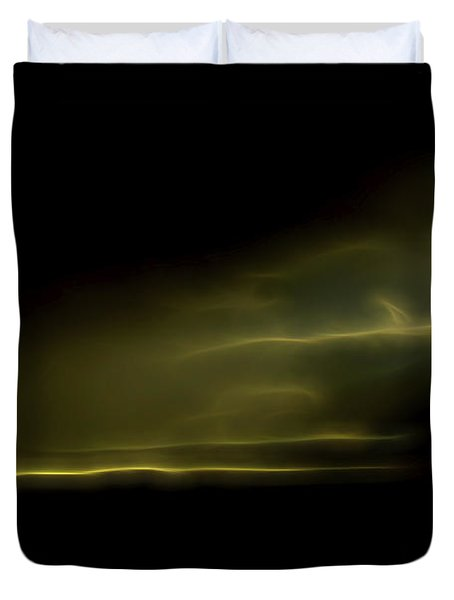 Duvet Cover featuring the digital art Desert Spotlight by William Horden