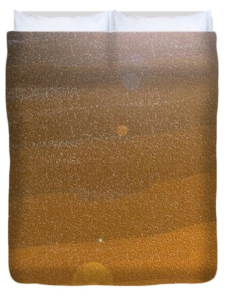 Desert Sun Duvet Cover by Lenore Senior