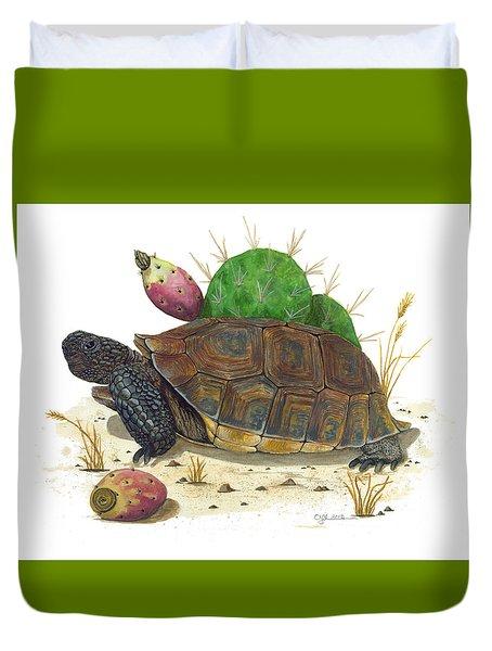 Desert Tortoise Duvet Cover