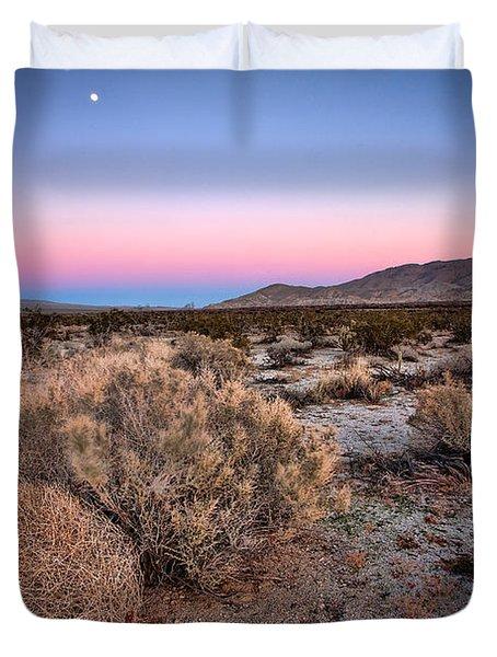 Desert Twilight Duvet Cover