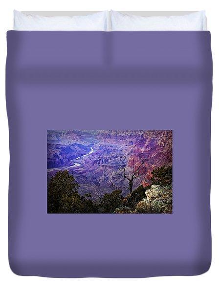 Desert View Sunset Duvet Cover