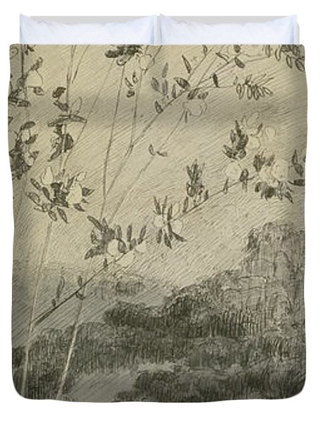 Desires Duvet Cover by Max Klinger
