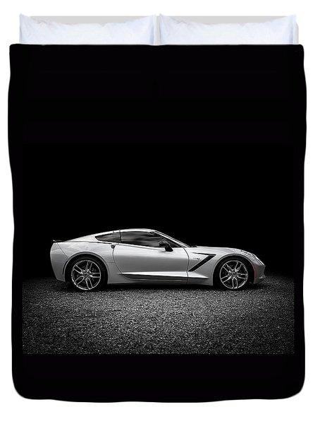 2014 Corvette Stingray Duvet Cover