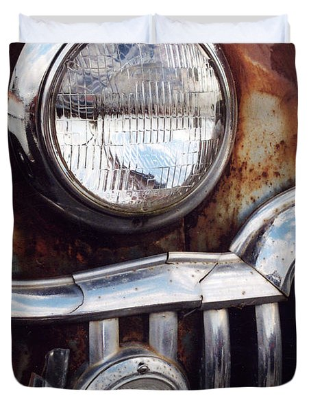 Desoto Headlight Duvet Cover