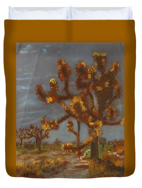 Dessert Trees Duvet Cover