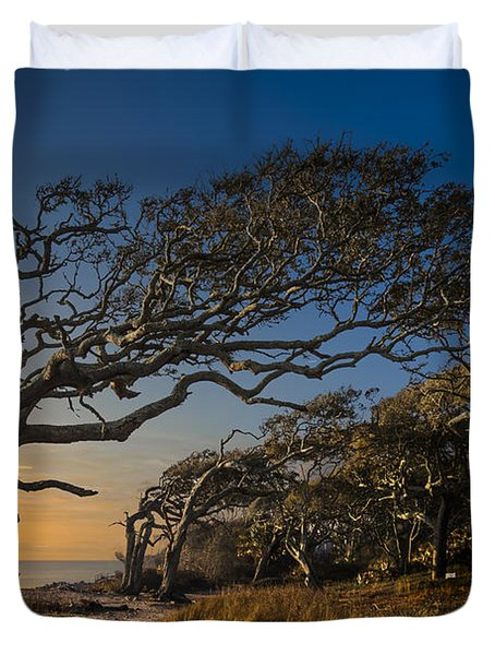 Determination Duvet Cover by Debra and Dave Vanderlaan