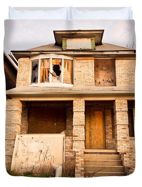 Detroit Neighborhood Duvet Cover