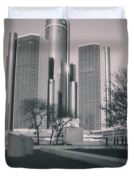 Detroit2 Duvet Cover