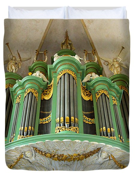 Deventer Organ Duvet Cover