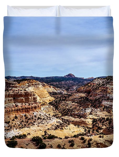 Devil's Canyon Duvet Cover