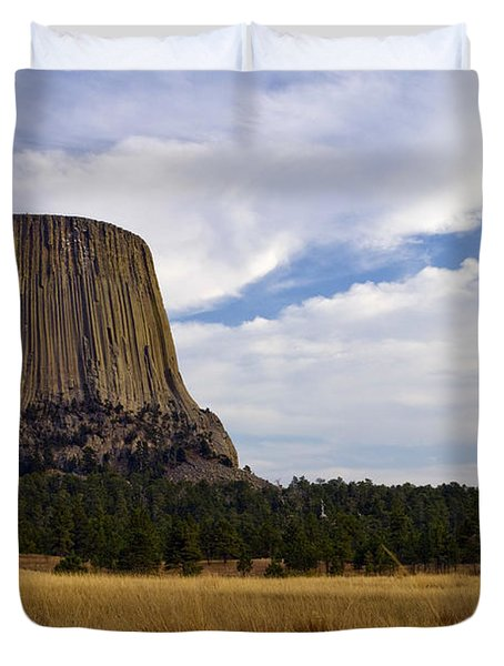 Devil's Tower No.2 Duvet Cover