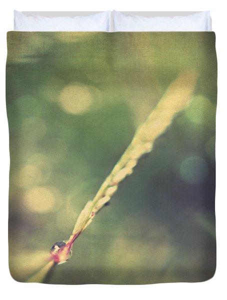 Dew Duvet Cover by Taylan Apukovska
