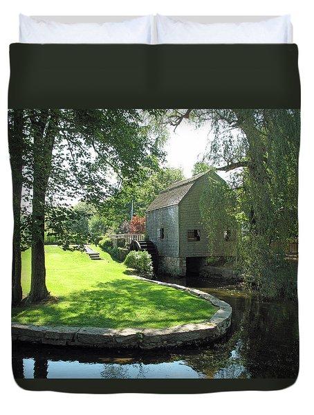 Dexters Grist Mill Duvet Cover
