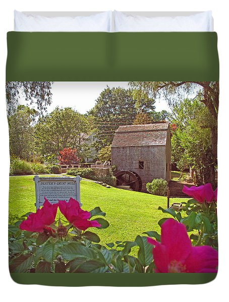 Dexters Grist Mill Two Duvet Cover